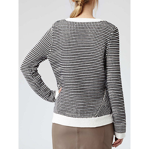 Buy Reiss Textured Elsie Jumper, Neutral Online at johnlewis.com