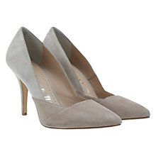 Buy Mint Velvet Lisa Court Shoes, Stone / Natural Online at johnlewis.com
