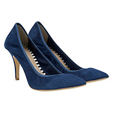 Buy Mint Velvet Sophia Court Shoes, Blue Online at johnlewis.com