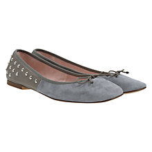 Buy Mint Velvet Carlotta Pump, Grey Online at johnlewis.com