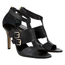 Buy Mint Velvet Lola Neu Leather Strappy Sandals Online at johnlewis.com