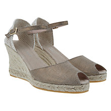 Buy Mint Velvet Mia Espadrille Sandals, Brown Online at johnlewis.com