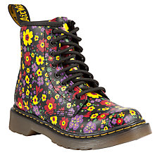 Buy Dr Martens Childrens' Flower Boots, Multi Online at johnlewis.com