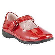 Buy Lelli Kelly Childrens' Nicole Shoes, Red Patent Online at johnlewis.com