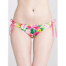 Buy Ted Baker Poleyy Side Tie Bikini Briefs, Light Pink Online at johnlewis.com