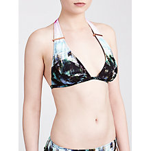 Buy Ted Baker Aabby Triangle Bikini Top, Light Pink Online at johnlewis.com