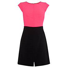 Buy Coast Sammi Dress, Pink/Black Online at johnlewis.com