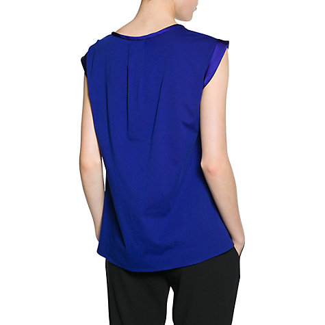 Buy Mango Satin Applique T-Shirt Online at johnlewis.com