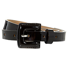 Buy Hobbs Gabi Patent Belt Online at johnlewis.com
