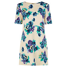 Buy Warehouse Floral T-Shirt Dress, Multi Online at johnlewis.com