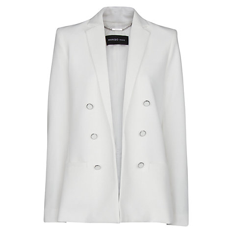 Buy Mango Double Breasted Blazer Online at johnlewis.com