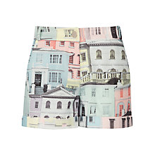 Buy Ted Baker Lelah Regency Houses Print Short, Light Grey Online at johnlewis.com