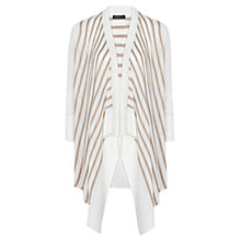 Buy Mango Bi-Colour Striped Cardigan Online at johnlewis.com
