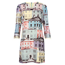 Buy Ted Baker Edolie Regency Houses Tunic, Light Grey Online at johnlewis.com