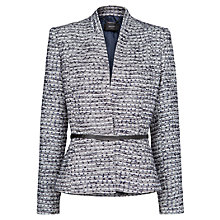 Buy Mango Belt Jacquard Jacket Online at johnlewis.com