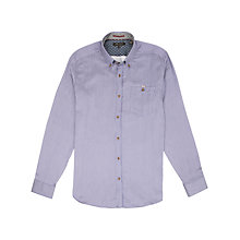 Buy Ted Baker Supofly Striped Shirt, Blue Online at johnlewis.com