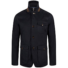 Buy Ted Baker Greleaf Coat, Navy Online at johnlewis.com