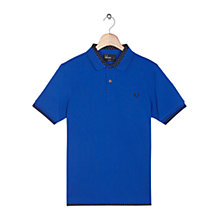 Buy Fred Perry Polka Dot Collar Slim Fit Polo Shirt, Regal Online at johnlewis.com