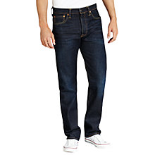 Buy Levi's 501 Straight Jeans, Blue Lane Online at johnlewis.com