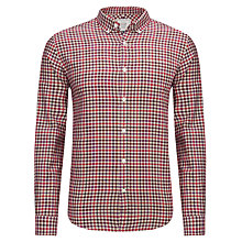 Buy John Lewis Mid Multi Check Long Sleeve Shirt, Purple Online at johnlewis.com