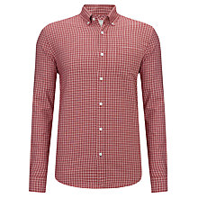 Buy John Lewis Intense Check Oxford Shirt Online at johnlewis.com