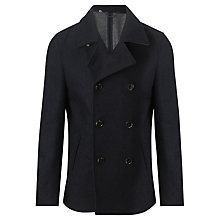 Buy John Lewis Deconstructed Peacoat, Navy Online at johnlewis.com