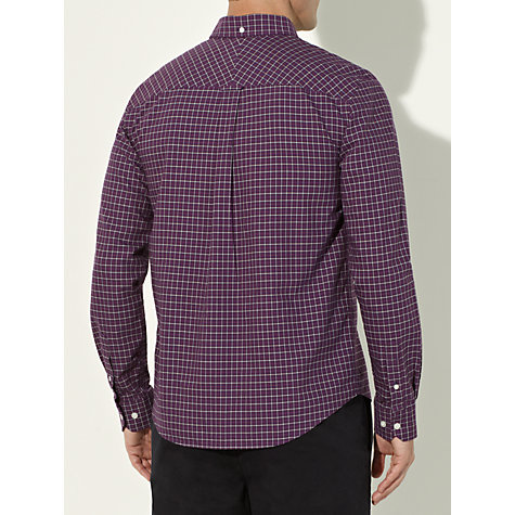 Buy John Lewis Mini Grid Check Oxford Shirt Online at johnlewis.com