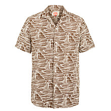 Buy Orla Kiely Sea Sketch Short Sleeve Bowling Shirt Online at johnlewis.com