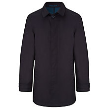 Buy Kin by John Lewis Bonded Mid Length Mac, Navy Online at johnlewis.com