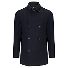 Buy John Lewis Buckle Neck Jacket, Navy Online at johnlewis.com