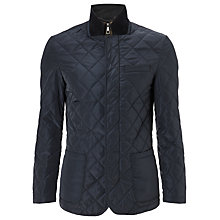 Buy John Lewis 2 in 1 Quilted Blazer, Navy Online at johnlewis.com
