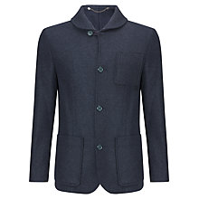 Buy Kin by John Lewis Melange Wool Mix Donkey Jacket, Navy Online at johnlewis.com