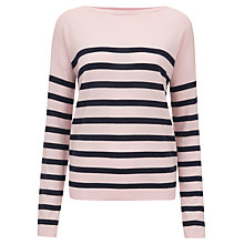 Buy Havren Breton Stripe Sweater, Multi Online at johnlewis.com