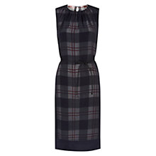 Buy Hobbs Silk Isabelle Dress, Black Multi Online at johnlewis.com