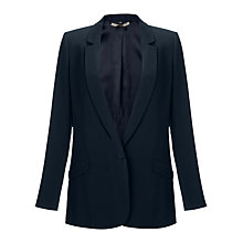 Buy Jigsaw Tailored Boyfriend Jacket, Navy Online at johnlewis.com