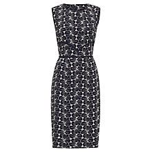 Buy Havren Broderie Anglaise Dress, Black/White Online at johnlewis.com