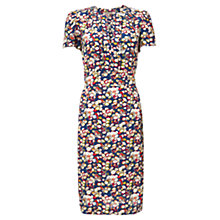 Buy Jigsaw Cecile Print Tea Dress, Multi Online at johnlewis.com