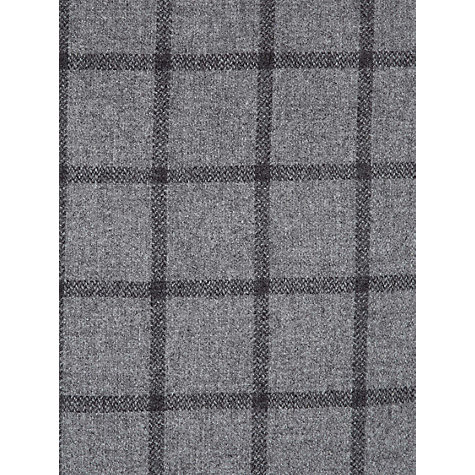 Buy Hobbs Edie Check Skirt, Grey Online at johnlewis.com