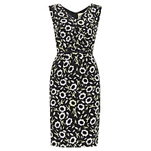 Buy Havren Silk Pleat Front Dress, Multi Online at johnlewis.com