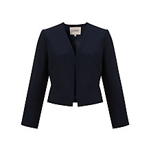 Buy Havren Grosgrain Jacket, Midnight Online at johnlewis.com