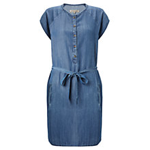 Buy Jigsaw Tencel Dress, Blue Online at johnlewis.com