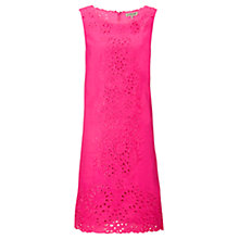 Buy Jigsaw Embroidery Anglaise Linen Dress Online at johnlewis.com