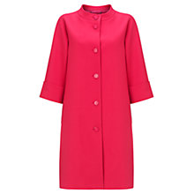 Buy Jigsaw Audrey Coat, Pink Online at johnlewis.com