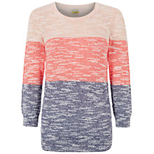 Buy NW3 by Hobbs Paige Jumper, Papaya Pink Multi Online at johnlewis.com