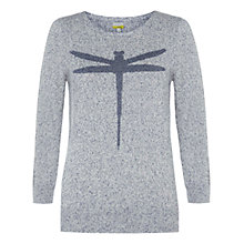 Buy NW3 by Hobbs Cara Jumper, Blue Multi Online at johnlewis.com