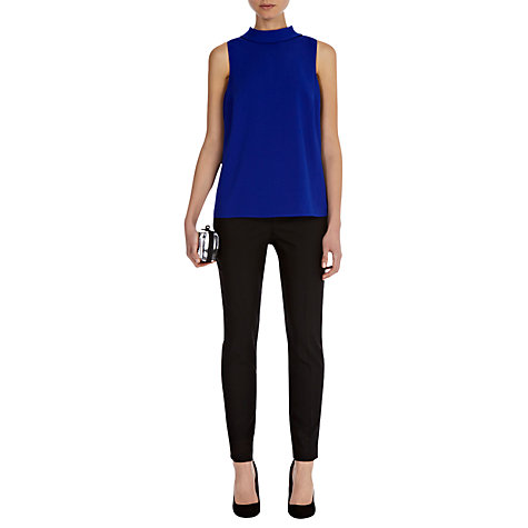 Buy Coast Tarin Trousers, Black Online at johnlewis.com