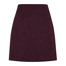 Buy Hobbs Edie Wool Skirt, Purple Online at johnlewis.com