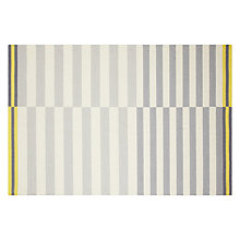 Buy House by John Lewis Emmett Rug, Yellow/ Grey Online at johnlewis.com