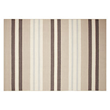 Buy John Lewis Portland Stripe Rug, Blue Online at johnlewis.com
