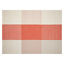 Buy John Lewis Oscar Flame Rug, Orange/ Neutral Online at johnlewis.com